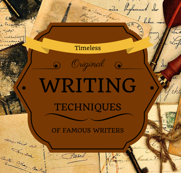 Different Writing Techniques of Famous Writers